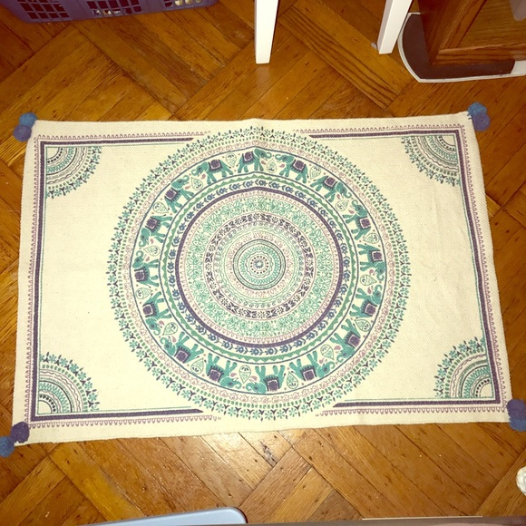 Urban Outfitters Other Elephant Area Rug Poshmark